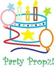 Party Propz! for kids birthdays!!!
