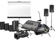 Audio visual equipment rentals company| Toronto